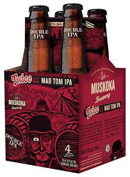 Award winner from The Muskoka Brewery — Mad Tom IPA