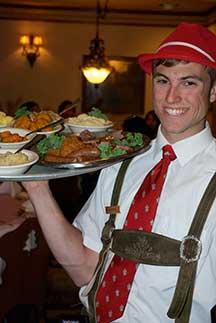 Hospitality plus! The Bavarian Inn Platter