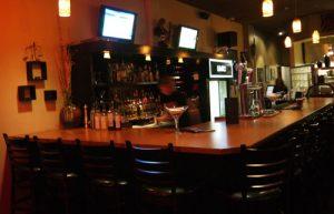 Limbo inside bar