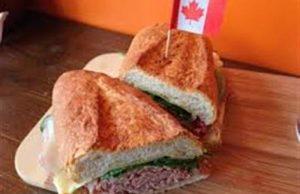Corned beef sandwich,