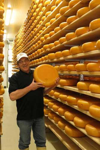 Adam Van Bergeijk of Mountainoak Cheese