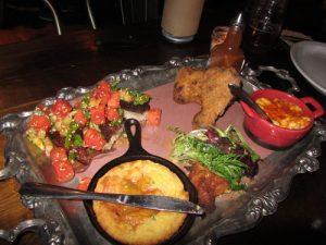 A communal platter, at Union 613 in Ottawa