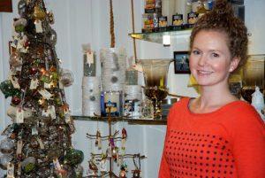Owner Jenn Wallace, at Hive