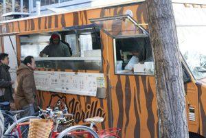 Korilla - one of many New York City food trucks