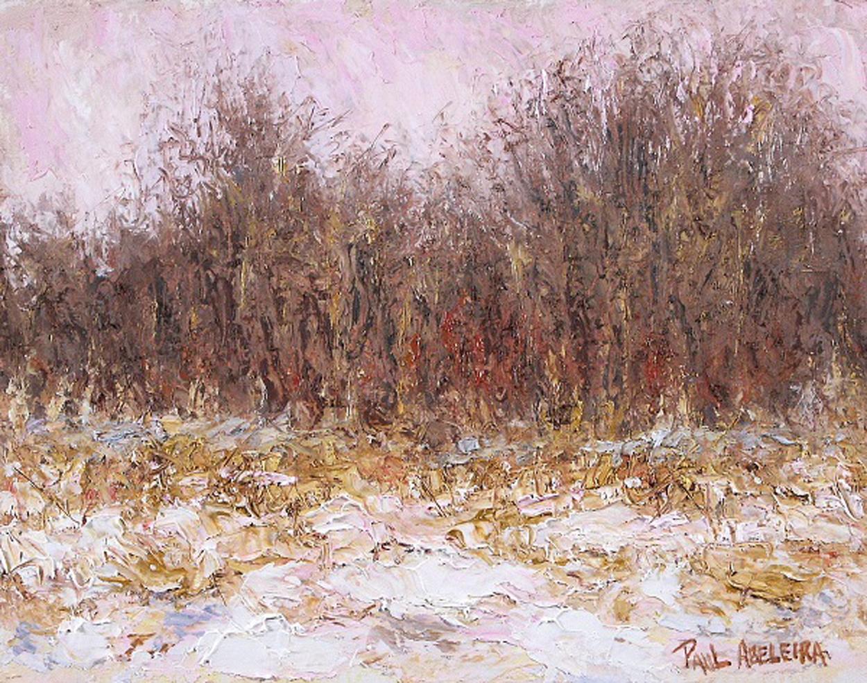 """Ravine in January"" by Paul Abeleira"
