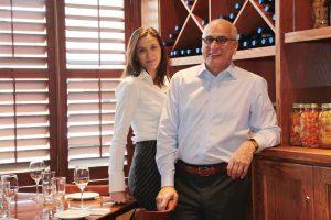 Bertoldi's GM Jessica DiFruscia, and her visionary  father, uber-restaurateur Bob DiFruscia