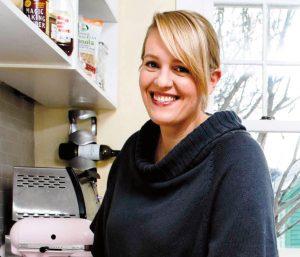 Author Julie Van Rosendaal